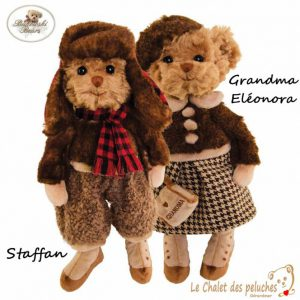 Grandma Eléonora & Staffan - 30cm - Collection BUKOWSKI