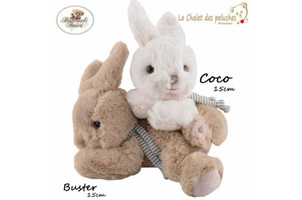 Coco & Buster - 15cm - Collection BUKOWSKI
