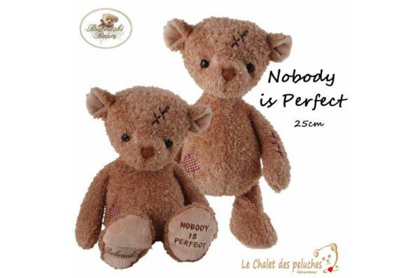 Noboby is Prefect - 25cm - Peluche BUKOWSKI