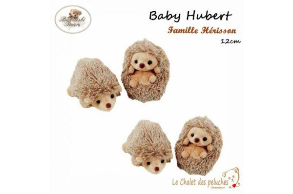 Baby Hubert - 12cm - Peluche BUKOWSKI
