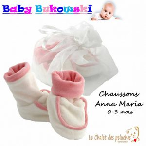 Chaussons Anna Maria Baby shoes - BUKOWSKI