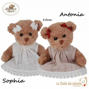 Sophia et Antonia - 15cm - Collection BUKOWSKI