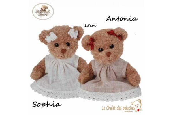 Sophia et Antonia - 15cm - Collection BUKOWSKI
