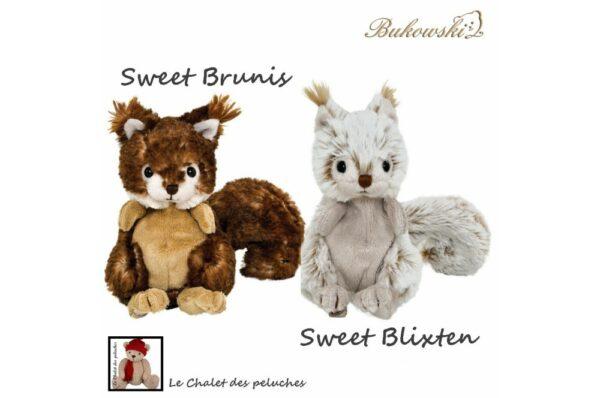Brunis & Blixten - 15cm - Collection BUKOWSKI