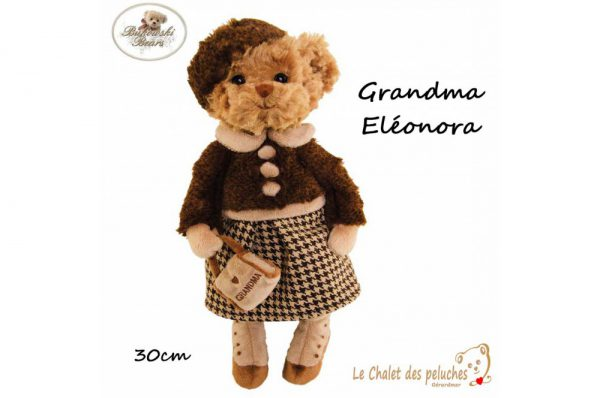 Grandma Eléonora - 30cm - Collection BUKOWSKI