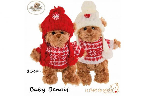 Baby Benoit - 15cm - Peluche Bukowski
