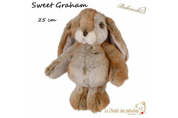Sweet Graham - Lapin 25cm - Peluche BUKOWSKI