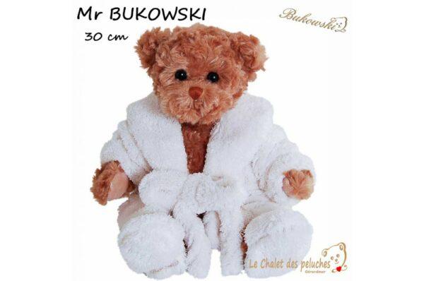 Mr Bukowski 2018 - 30 cm - Peluche Bukowski