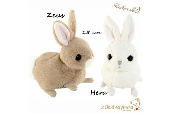 Zeus & Hera - 15cm - Peluche BUKOWSKI