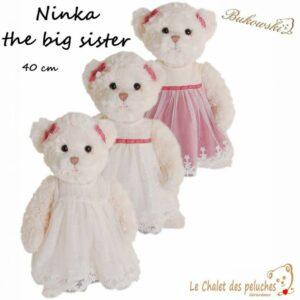 Ninka the big sister - 40cm - Peluche Bukowski
