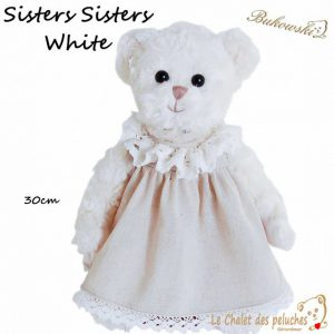 Sisters Sisters White - - 30cm - Collection BUKOWSKI