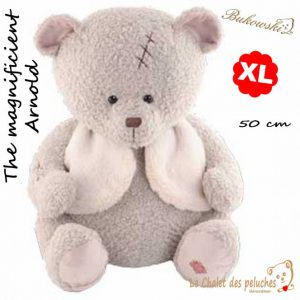 The magnificient Arnold - Taille XL - 50cm - peluche Bukowski