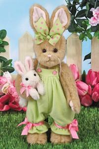 Bella & Bunny, ours bearington, le chalet des peluches