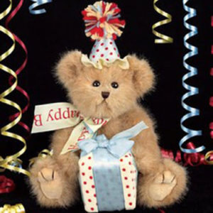 Beary happy birthday, le chalet des peluches