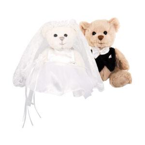 Kiara & Hugo, les petits mariés Bukowski du chalet des peluches