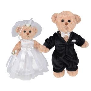 Wedding pair, les mariés Bukowski du chalet des peluches