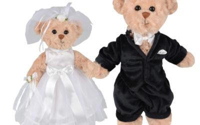 Déco mariage : les mariés Bukowski !